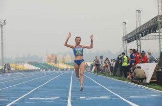 Бегунья Наталья Леонтьева взяла вторую золотую медаль Игр-Манчаары-2021