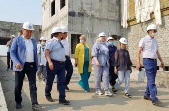 В Якутске строительство объектов здравоохранения идет по графику