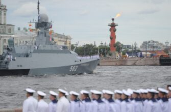 В Санкт-Петербурге пройдет главный военно-морской парад страны