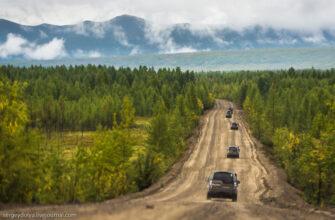 В Якутии временно закрыто движение на участке трассы Р-504 «Колыма»
