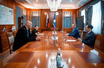 Айсен Николаев и Николай Валуев обсудили вопросы лесовосстановления в Якутии