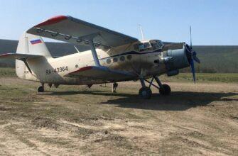 Самолет Ан-2 доставил картофель в отдаленное село Эвено-Бытантайского района Якутии