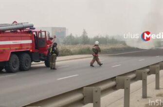 Газовики устраняют инцидент на газопроводе по автостраде 50 лет Октября в Якутске