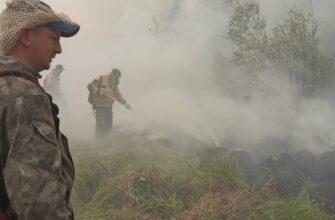 МЧС Якутии тушит пожары в селах Бясь-Кюёль, Кырыкый, Кылайы и Сюльдюкар