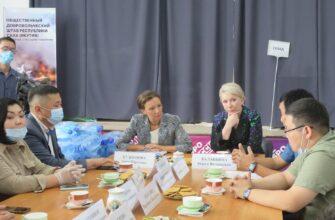 Омбудсмен по правам ребенка в России поблагодарила Общественный добровольческий штаб Якутии