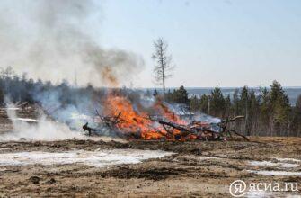 В Якутии планируют ликвидировать возгорания в Нюрбинском, Хангаласском, Таттинском и Намском районах