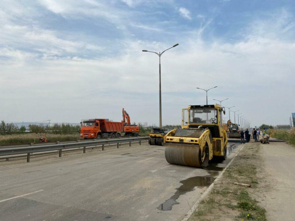 Проезд в сторону аэропорта Якутска открыт