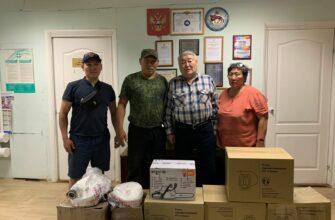 Академия наук Якутии оказала помощь Горному улусу для борьбы с лесными пожарами