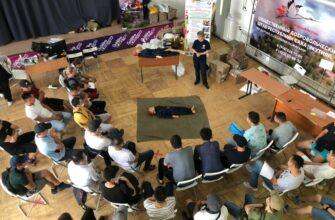 Учебный центр «Спасатель» обучает добровольцев действиям в чрезвычайных ситуациях