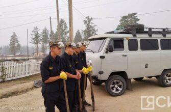 В Горном районе Якутии лесные пожары угрожают пяти селам
