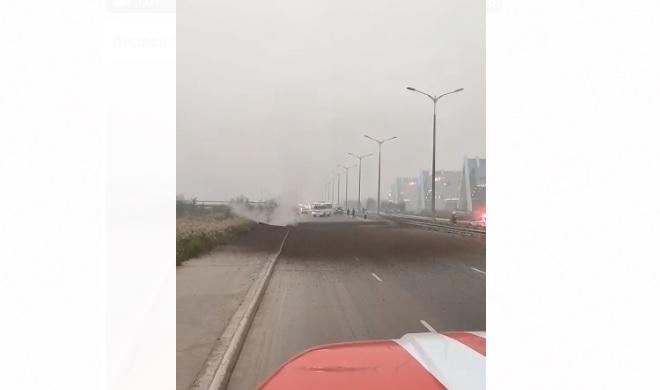 Движение по автостраде 50 лет Октября в Якутске частично возобновлено ⠀
