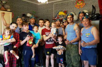 Якутские десантники в свой праздник оказали благотворительную помощь
