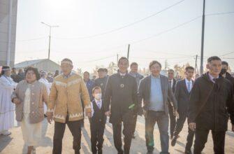 В селе Харыялах Оленёкского района Якутии открыли современную школу-сад
