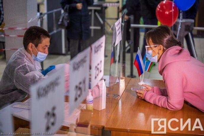 Первый день голосования в Якутске