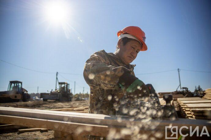 Фоторепортаж: Большая стройка в Бясь-Кюёле