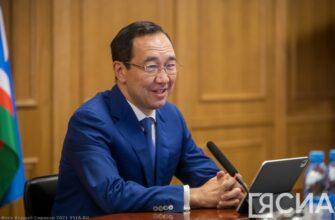 Глава Якутии поднялся на 5 место в рейтинге губернаторов за август 2021 года