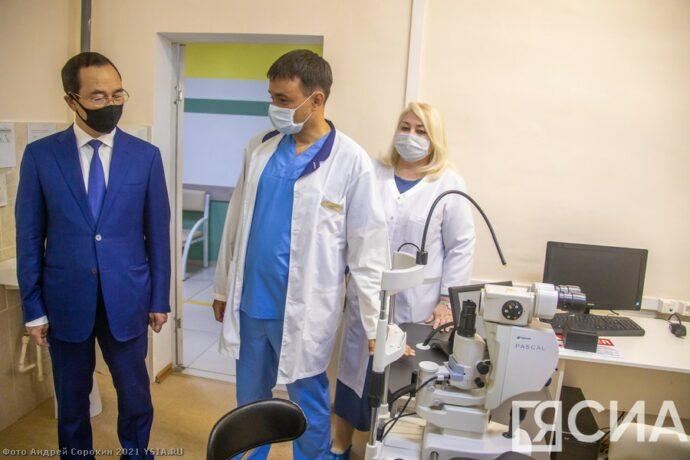 Офтальмологи Якутии находятся на острие медицинского прогресса