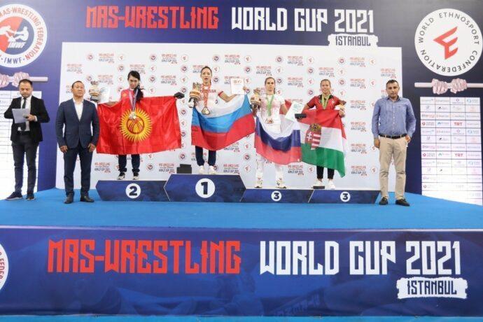 Якутяне завоевали восемь из четырнадцати золотых медалей Кубка мира по мас-рестлингу