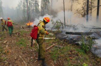 В Якутии тушат шесть лесных пожаров