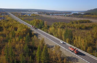 В Алданском районе Якутии отремонтировали шесть километров трассы «Лена»