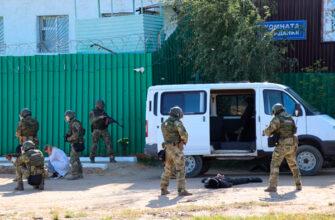 В УФСИН провели тактико-специальное учение с участием сотрудников МВД и Росгвардии в Якутске