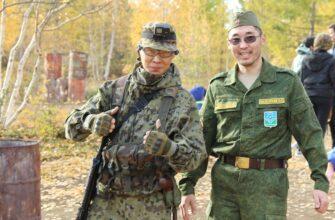 В Мирнинском районе Якутии прошла военно-спортивная игра «Зарница»