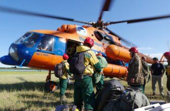Срок работы 25 парашютистов-десантников Авиалесоохраны для тушения возгораний в Якутии продлили