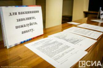 Адреса для получения вакцины в Якутске на 25 сентября