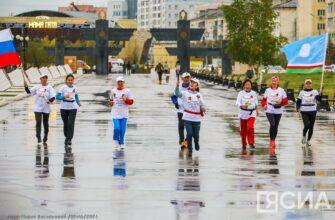 В Якутии женщины посвятили легкоатлетический пробег Дню окончания Второй мировой войны