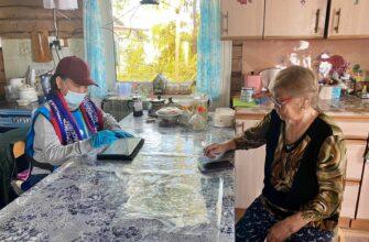 В труднодоступном селе Качикатцы проходит Всероссийская перепись населения