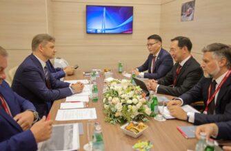 Айсен Николаев и Олег Белозеров обсудили модернизацию железнодорожной инфраструктуры в Якутии