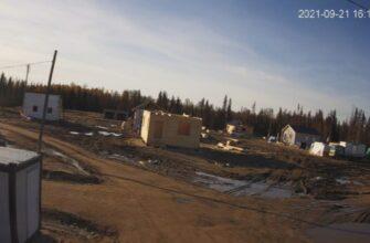 За ходом строительных работ в селе Бясь-Кюёль можно наблюдать в онлайн-режиме на сайте ЯСИА