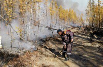 В Якутии за сутки ликвидировали два природных пожара