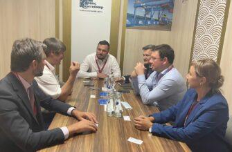 «Железные дороги Якутии» и «Трансконтейнер» провели встречу в рамках ВЭФ-2021