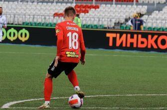 Якутянин Артем Соколов создал два гола, впервые выйдя в основном составе в Премьер-Лиге за «Химки»