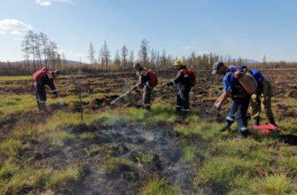 За сутки в Якутии ликвидировали 16 природных пожаров