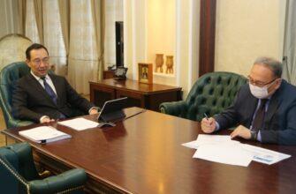 Глава Якутии провёл совещание по развитию НОЦ «Север: территория устойчивого развития»