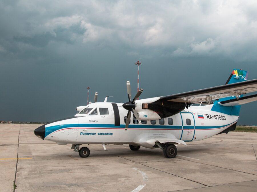 На борту самолета, выполнявшего санрейс в Якутии, родилась девочка