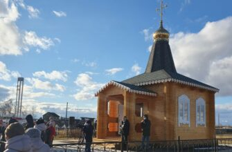 В якутском селе Графский Берег освятили новую часовню