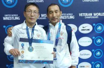 Борец-ветеран из Якутии на чемпионате мира взял серебряную медаль