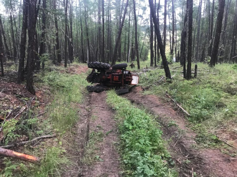 За прошедшие сутки в Чурапчинском районе произошло два ДТП