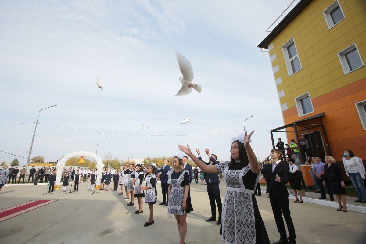 В посёлке Алмазный Мирнинского района открылась новая школа