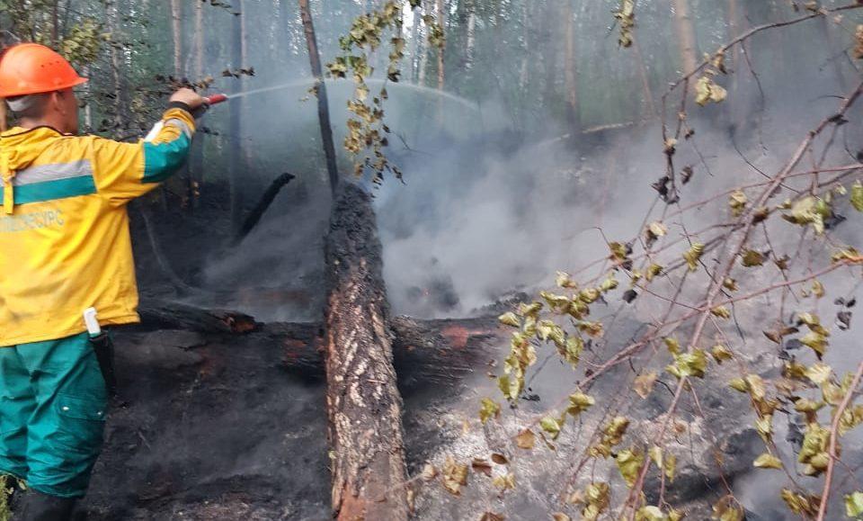 В Среднеколымский улус для борьбы с пожарами перебросят дополнительные силы