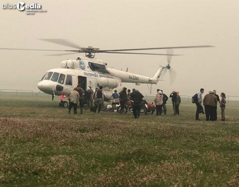 В два села Среднеколымского района доставлены дополнительные силы и средства для тушения пожаров
