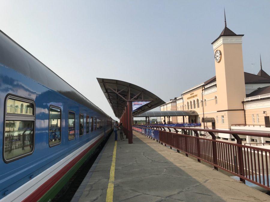 Пассажирский поезд со станции Нижний Бестях будет курсировать ежедневно