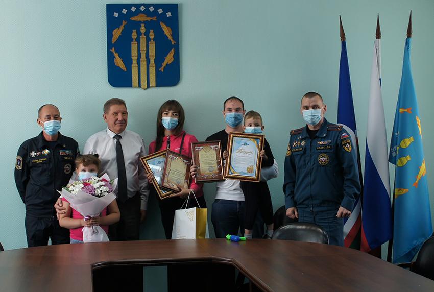 В Нерюнгри поблагодарили жителей города, оказавших помощь утопающим