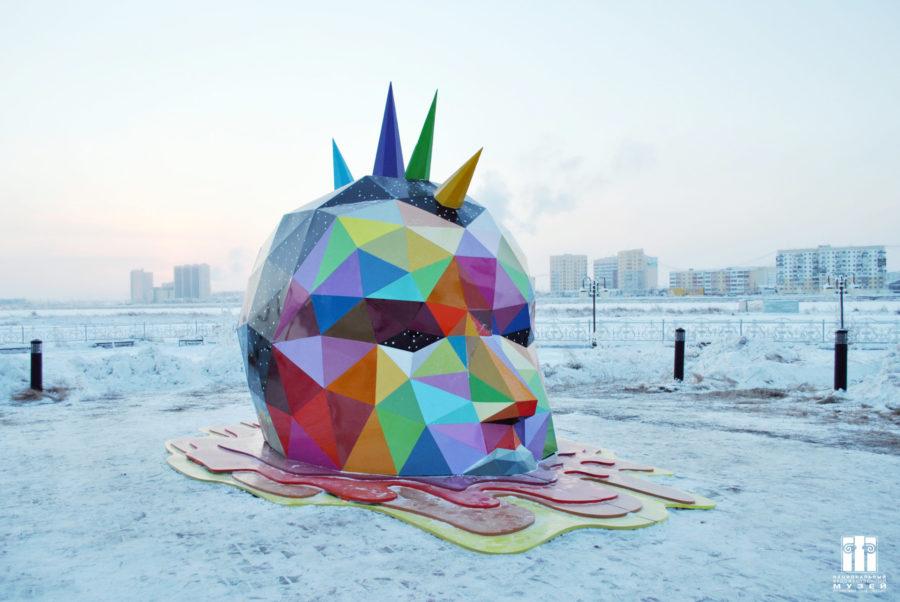 Экскурсионный флешмоб в Якутске. Национальный художественный музей приглашает посетить знаковые арт-объекты города