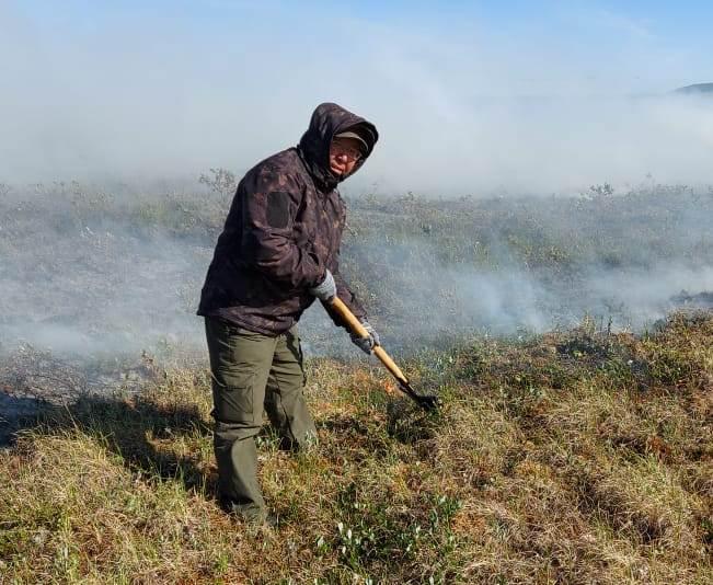 В ряд районов Якутии направили дополнительные силы  для борьбы с лесными пожарами