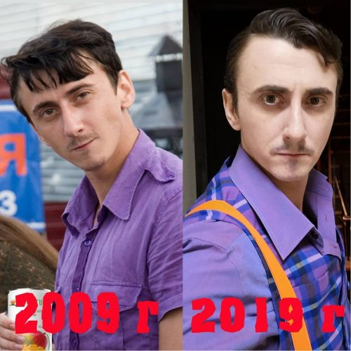 Дмитрий Юрченко, артист Русского драматического театра