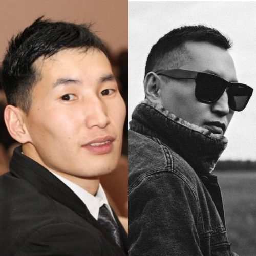 Айгылаан, артист якутской эстрады